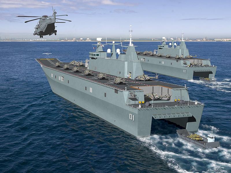 UAVs embarcados para la Armada